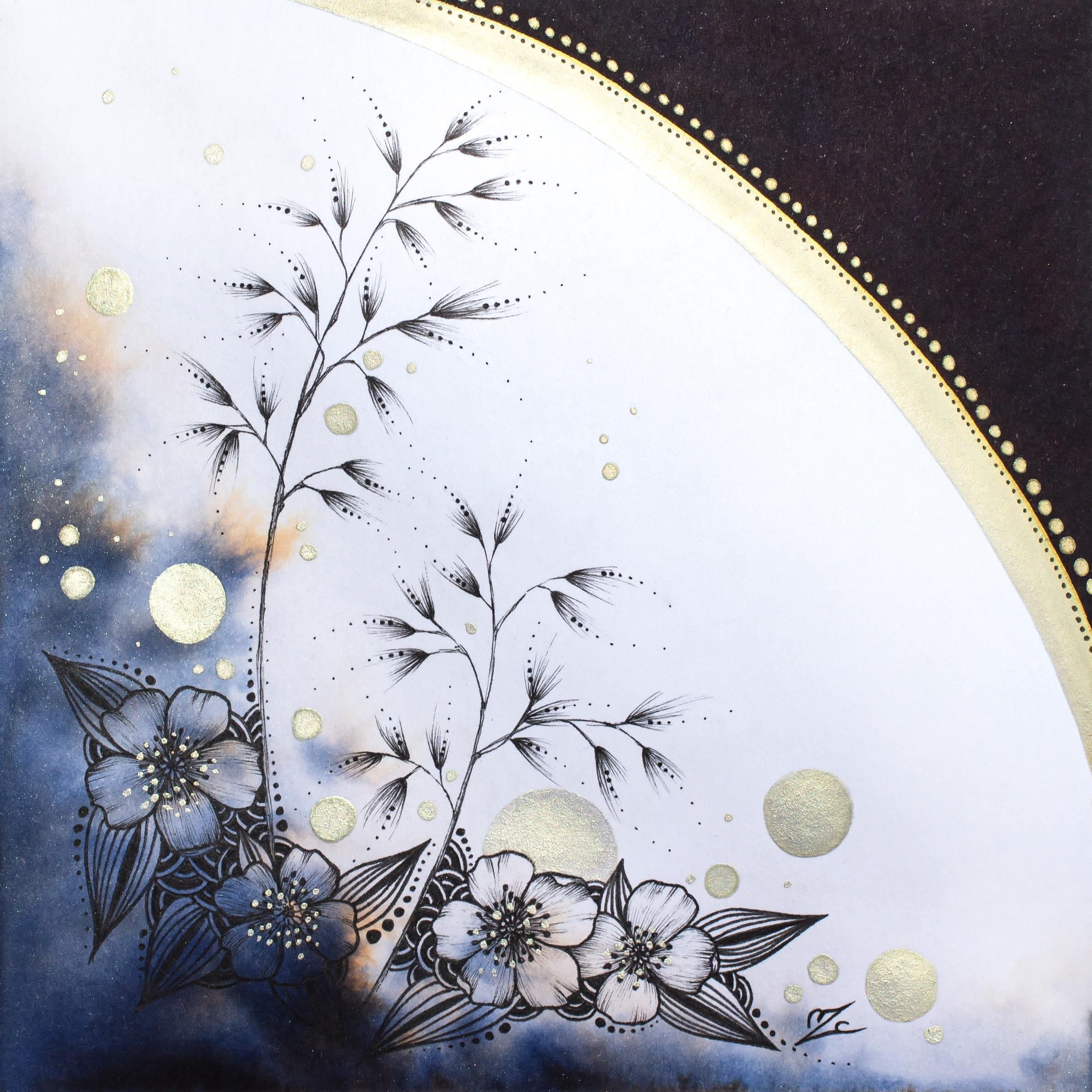 Poaceae - 14x14cm - Sold